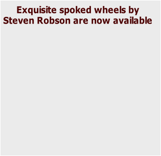 Exquisite spoked wheels by 